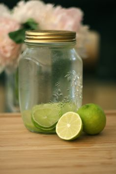 Lime infused Vodka