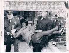 Police Carry Off Civil Rights Protester, Chester, Pennsylania. Photo is dated 11/14/63.