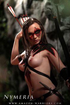 Nude amazon warriors that