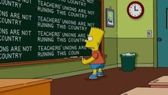 I love The Simpsons. Sometimes the subtle humour is the best.