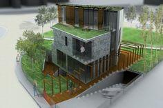 villa815 - progetto di edificio residenziale unifamiliare - Capriate San Gervasio, Italia - 2013
