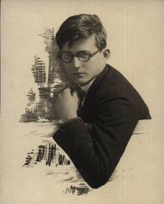 Dmitri Shostakovich (25 Sep. 1906 - 9 Aug. 1975)