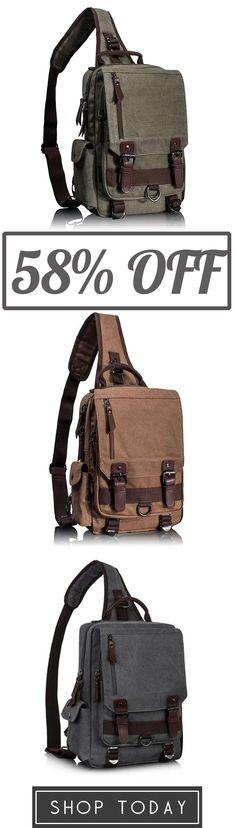 Canvas Cross Body Bag Shoulder Bag – Fashion…S t y l – Men Salvatore Ferragamo, Converse Chuck Taylor, Top Casual, Fashion Bags, Mens Fashion, Best Bags, Big Men, Mode Inspiration, Travel Backpack
