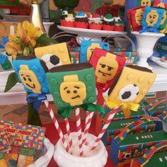 Lego soccer Lego futebol