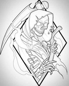 Drawing Skull Tattoo Skeleton Art 49 New Ideas Kunst Tattoos, Skull Tattoos, Body Art Tattoos, Sleeve Tattoos, Tattoo Design Drawings, Tattoo Sketches, Drawing Sketches, Tattoo Designs, Tattoo Ideas