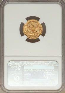Liberty Quarter Eagles, 1854 $2 1/2 AU58 NGC....
