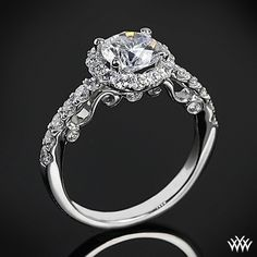 Engagement Ring, I love the intricate designing. I love everything about this ring, minus the center diamond. I like the outside small diamonds, but not the big center one, maybe a different gem instead? A morganite gem would look beautiful with this ring!