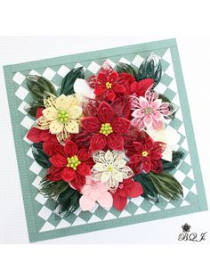 Flower card.