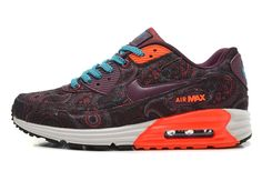 hot sale online 975eb 52313 Cheap nike air max online. various styles.Barato Nike Air Max 90 Naranja  Rojo De Vino Verde Zapatillas,
