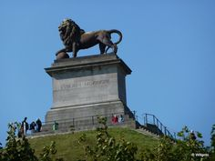 Waterloo, la butte au lion