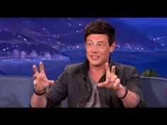"Cory Monteith Lives Life Like ""Animal House"" - CONAN on TBS - YouTube"
