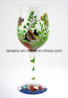 Painted Wine Glasses Ideas | Hand Painted Wine Glass - China Wine Glass, Cocktail Glass