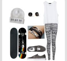 Skater girl outfit idea