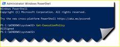 "How to fix error ""PowerShell is not digitally signed"". #PowerShell #ssl Microsoft Corporation, Script, Coding, Running, Signs, Studio, Digital, Check, Script Typeface"