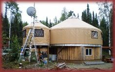 The Super 2 Story All Weather - Alaskan Style Yurt!