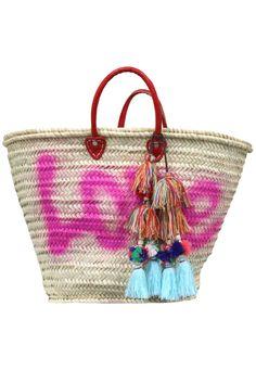Marrakesh Bag – Love </br> Sold with Milla Pompom