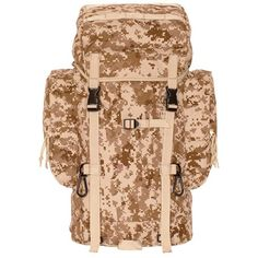 7870185b532c Digtial Desert Camo Rio Grande Packs 25 Ltr Constructed of rugged tactical  polyester. Padded back panel with built in ventilation channels.