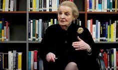 Madeleine Albright ist in Wien zu Gast. / Bild: Clemens Fabry/Die Presse