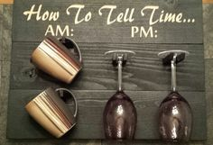 How To Tell Time by DenverSignDesign  DenverSignDesign/ Rustic Sign / Personalized Sign Distressed Wood/ reclaimed  wood/ Custom Carved Hand Painted Anniversary/ Housewarming Gift