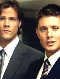 God, these 2 men... #Supernatural. Sam Winchester. Dean Winchester. Jensen Ackles. Jared Padalecki. #Winchesters #SPN