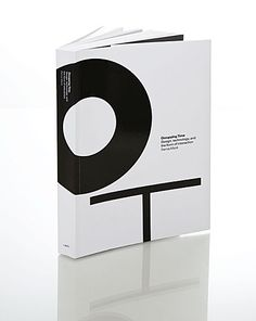 minimal book cover.