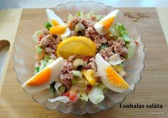 Tonhalas saláta - fehérje diétához | Ambrus Lászlóné/Györgyi 🍴🌼 receptje - Cookpad receptek