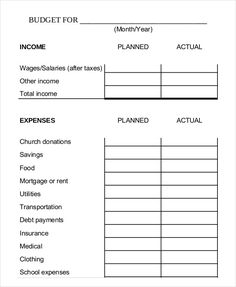 sample church budget template free 13 excel budget template mac