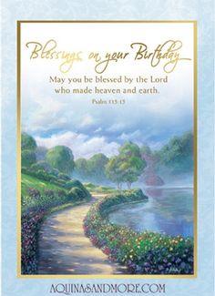 Catholic birthday ecards