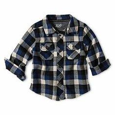469c2fce20f8 Joe Fresh™ Flannel Shirt - Boys 3m-24m...for boys but