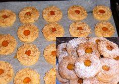 Sváb diós-lekváros süti recept foto Doughnut, Pineapple, Peach, Candy, Fruit, Christmas, Dios, Xmas, Pinecone