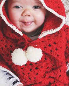 """I'm pretty sure that if it was socially acceptable to say such a thing yet she'd be saying: """"Merry Christmas ya filthy animal.""""  Custom Christmas poncho from @alittlerayofcrochet.  . . .  #motherhoodthroughinstagram #thatsdarling #motherhoodalive #myhappycapture #littlefierceones #littlestoriesofmylife #letthembelittle #kidsforreal #cameramama #thehappynow #pixel_kids #our_everyday_memories #letthekids #babiesofig #babygirl #dailycute #sixmonthsold #babies #bubba #broody #mumma…"""