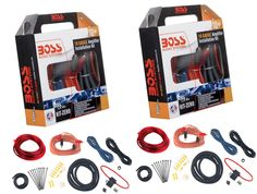 BOSS Boss Kitzero 10-Gauge Amplifier Wiring Installation Kit with Rca (Pair) KITZERO  sc 1 st  Pinterest : 10 gauge amp wiring kit - yogabreezes.com