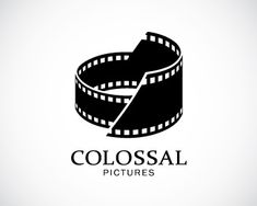 Clever #logo where the colosseum icon is made of film. Clean & timeless - designed by Antonius Murdhani