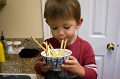 Veggie dip that's healthy and yummy for your little one!