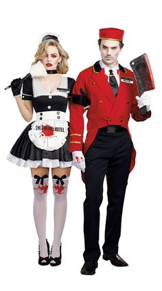 Horror Hotel Couples Costume