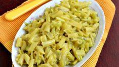 Salată de fasole verde cu maioneză Macaroni And Cheese, Ethnic Recipes, Food, Green, Mac And Cheese, Essen, Meals, Yemek, Eten