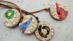 Bizantina, linea di ciondoli in mosaico di marmo e smalti veneziani ispirata alla città di Ravenna