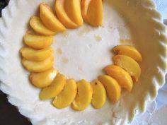 This custard peach pie recipe is the best peach pie recipe you'll ever make. Best Peach Pie Recipe, Peach Pie Recipes, Sweet Recipes, Pie Dessert, Dessert Recipes, Cake Recipes, Peach Custard Pies, Plum Pie, Just Pies