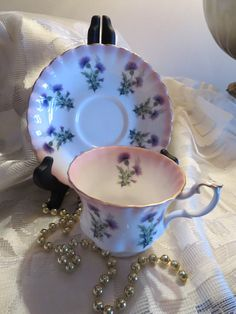 Royal Albert Bone China England Tea Cup and by AntiquesandCoinsJL