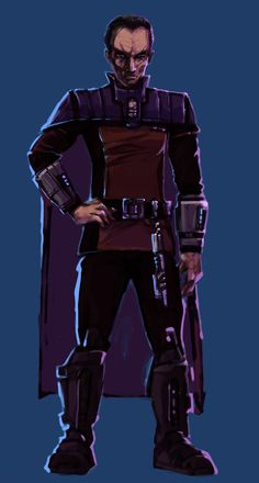 Valin Draco - Imperial Inquisitor - from The Star Wars Role Playing Game