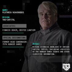#TheHungerGames #Mockingjay Part 1 (2014) - #PlutarchHeavensbee