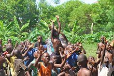 Water balloon day. Agape Children's Ministry. Kisumu, Kenya . June 2011.
