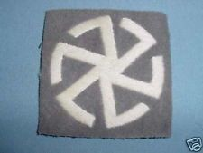 BRITISH WW1 WWI DIVISIONAL FORMATION BADGE SIGN 67TH PATCH