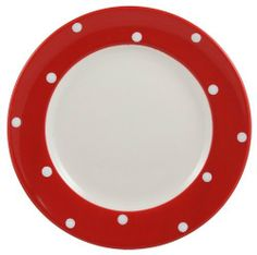 Spode Baking Days 8 Inch Salad Plate, Red by Spode. $18.00