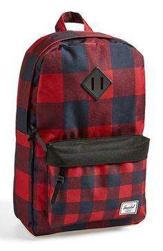 Herschel Supply Co. 'Heritage Mid Volume' Backpack available at Mochila Herschel, Herschel Backpack, Diy Backpack, Herschel Heritage Backpack, Hippie Culture, Backpack Pattern, Cute Backpacks, Herschel Supply Co, Designer Backpacks