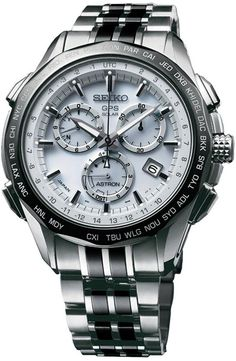 Seiko Astron Watch GPS Solar Chronograph Limited Edition Model No. Stylish Watches, Luxury Watches, Cool Watches, Skeleton Watches, Expensive Watches, Best Watches For Men, Seiko Watches, Tag Heuer, Beautiful Watches