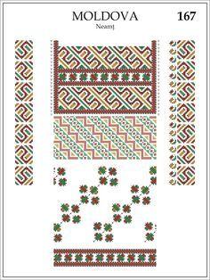 Folk Embroidery, Embroidery Patterns, Cross Stitch Patterns, Romanian Lace, Palestinian Embroidery, Simple Cross Stitch, Beading Patterns, Diy Tutorial, Folk Art