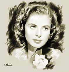 Ingrid Bergman by shahin