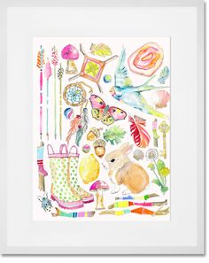 Sugar & Spice Art Print By Artist Shelly Kennedy oopsydaisy.com
