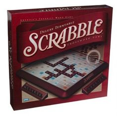 Dads favorite board game ( Scrabble )